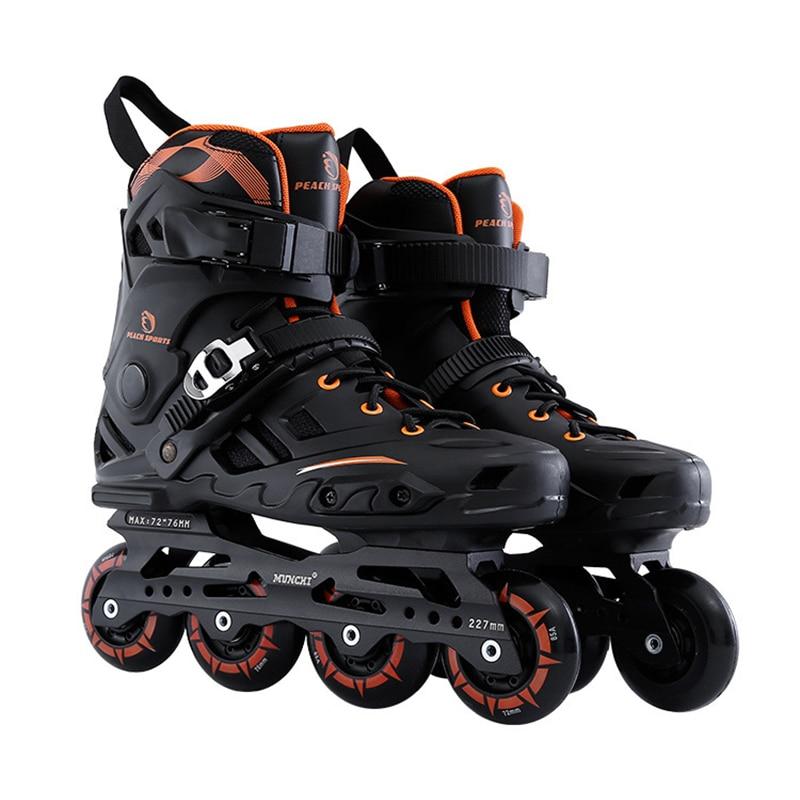 Inline Professional Adult Women Men Slalom  PP Ice Skating Skate Shoes Solid Frame Adjustable Washable  PU Wheels Adulto Inline Professional Adult Women Men Slalom  PP Ice Skating Skate Shoes Solid Frame Adjustable Washable  PU Wheels Adulto