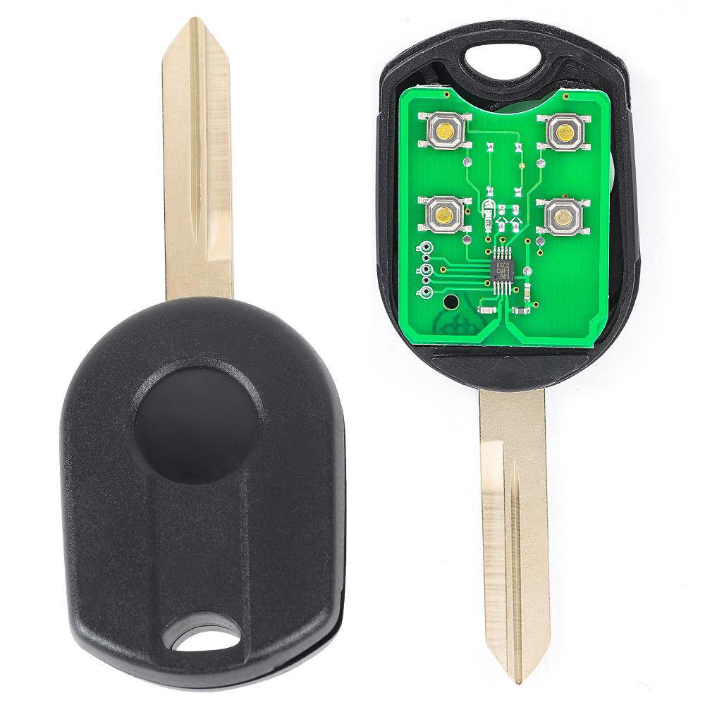 2 Transponder Chip Keys for Ford F150 F250 F350 Explorer /& more