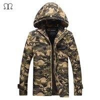 Casaco de Camuflagem do exército Militar dos homens Hoodies Jacket Raincoat Roupas Outwear Casaco Da Força Aérea Dos Homens Casacos de Inverno E Casacos