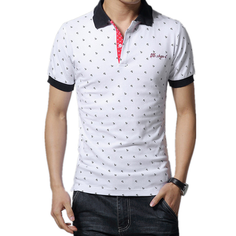 2019 New   POLO   Shirt Men Embroidery Short Sleeve Male   POLO   Shirts Turn-down Collar Casual   POLO   Men