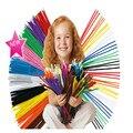 100 unids Montessori Materiales de Artesanía Hecha A Mano Infantil de Juguetes Educativos Para Niños Colorido Tubo de Chenilla Limpiador de Juguetes Artesanales