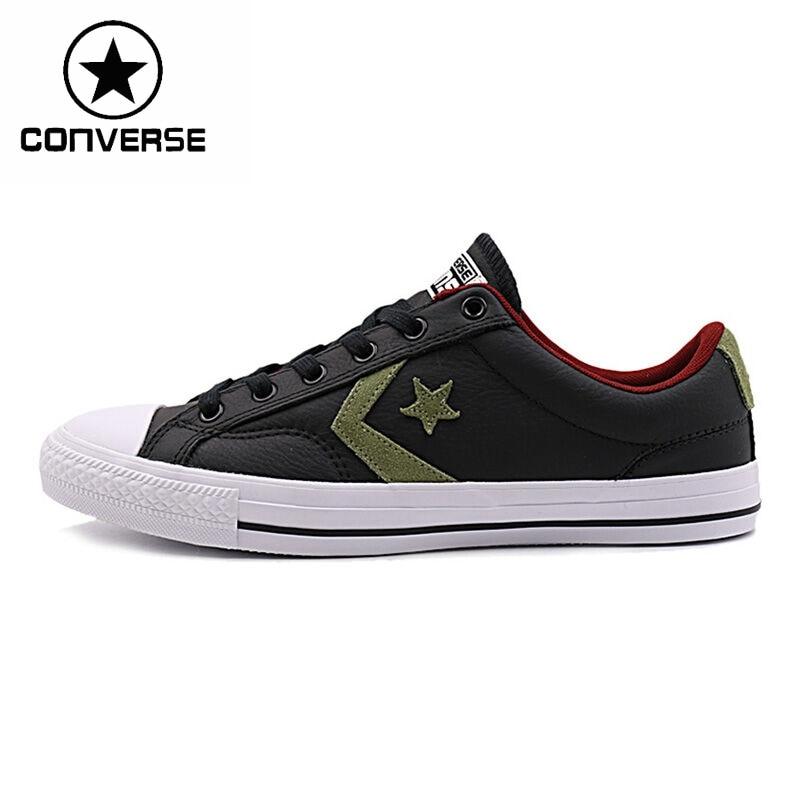 Prix pour Original Nouvelle Arrivée Converse star player en cuir Unisexe Planche À Roulettes Chaussures Sneakers