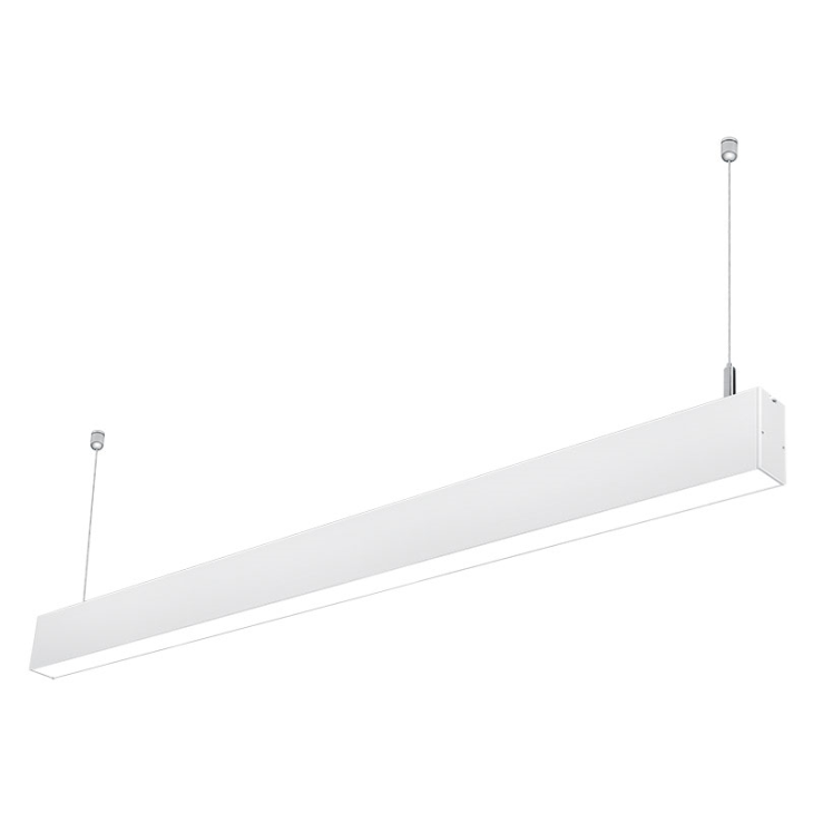 Free Shipping CE/ROHS Listed silver color aluminum suspended linkable led linear lighting 1.5m 45w 3000K 4000K 6000K цена и фото