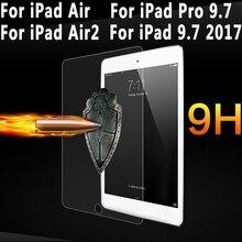Para iPad Pro 9.7 Protector de Pantalla Para el ipad 9.7 2017 de Vidrio Templado Slim Premium de Cine Para iPad Aire 1 iPad Aire 2 9.7 pulgadas vidrio