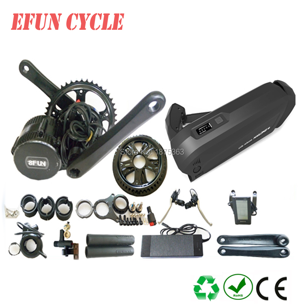Free shipping ebicycle kits BAFANG BBS01B 36V 350W central motor kits with 36V 11.6Ah new Hailong down tube battery for ebikeFree shipping ebicycle kits BAFANG BBS01B 36V 350W central motor kits with 36V 11.6Ah new Hailong down tube battery for ebike