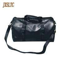 JXSLTC brand fashion extra large weekend duffel bag large PU leather business men's travel bag popular design women duffle Bag