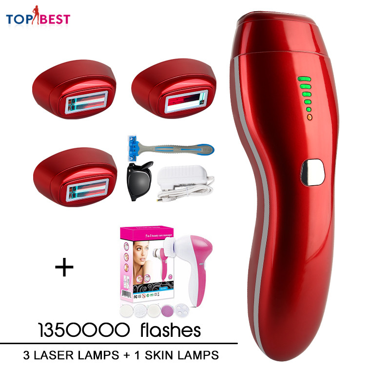 Electric Epilator IPL Laser Hair Removal Machine Laser Epilator Permanent Bikini Trimmer Electric Depilador Laser Women