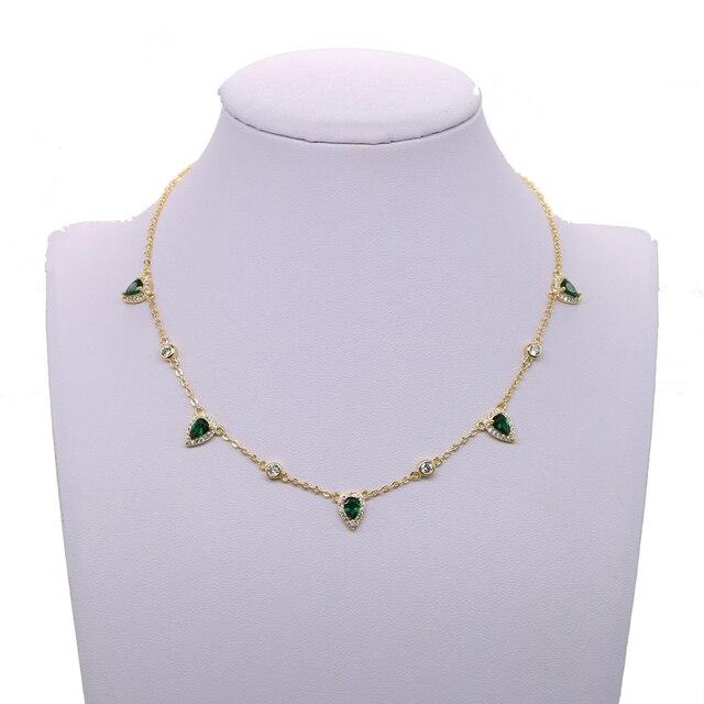Женское Ожерелье чокер в богемном стиле золотистого цвета с