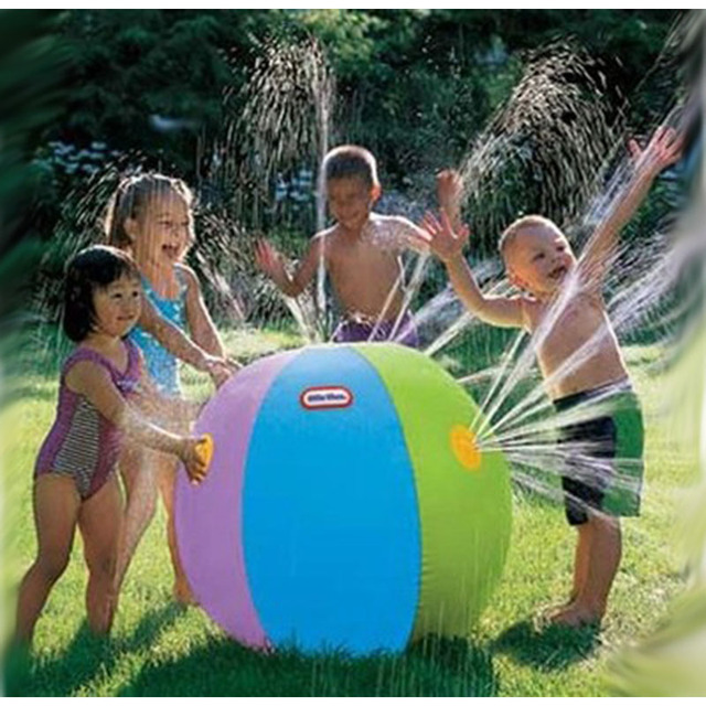 Newest Children's Entertainment Facilities Kid Inflatable Toy Ball In Summer Kid Water Polo People Play Outdoor Water Toys Gift