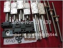 6 компл. SBR16-400/1400/1400 мм линейные направляющие + 4 компл. RM1605-450/1450/1450/1450 мм швп + 4 компл. BK/BF12 + 4 муфты для станков с чпу
