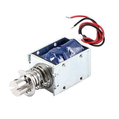 DC 48V 92.16W 7mm 500g Pull Type Linear Motion Solenoid Electromagnet XWJ dc 12v 0mm 1kg force pull type linear motion solenoid electromagnet