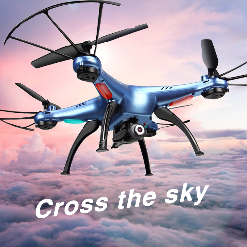 2MP RC Drone Syma X5HW FPV RC Quadcopter mini Drone with Camera 2.4G 6-Axis RC Helicopter Drones With Camera HD dron aircraft rc quadcopter drone with camera hd 0 3mp 2mp wifi fpv camera drone remote control helicopter ufo aerial aircraft s6