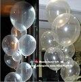 10 polegadas 100 pçs/lote balões transparentes claras/Round/pearl/party balão atacado/bola/ballon/decoração do casamento