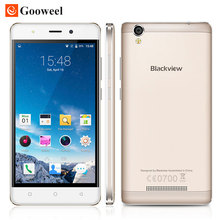 Caso libre Blackview MTK6580 A8 smartphone 5.0 pulgadas IPS HD Quad Core Android 5.1 Teléfono Móvil 1 GB RAM 8 GB ROM 8MP 3G GPS