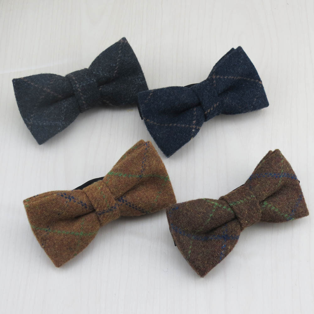 ▻100% WOOL MEN\'S bow tie High quality fashion formal colthing bow ...