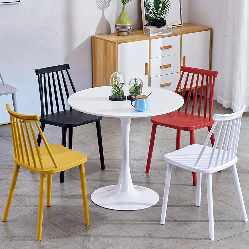 Nuevo moderno minimalista mesa de comedor pequeña mesa redonda oficina de  ventas para negociar ...