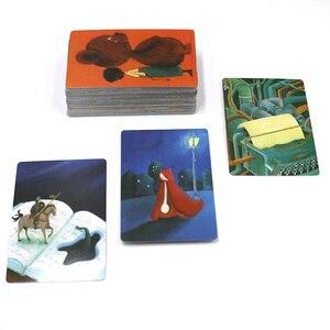 Image 3 - D i x i tカードゲームストーリーデッキ1 2 3 4 5 6 7 8合計336トランプ木製バニーのためのァミリーパーティーボードゲーム