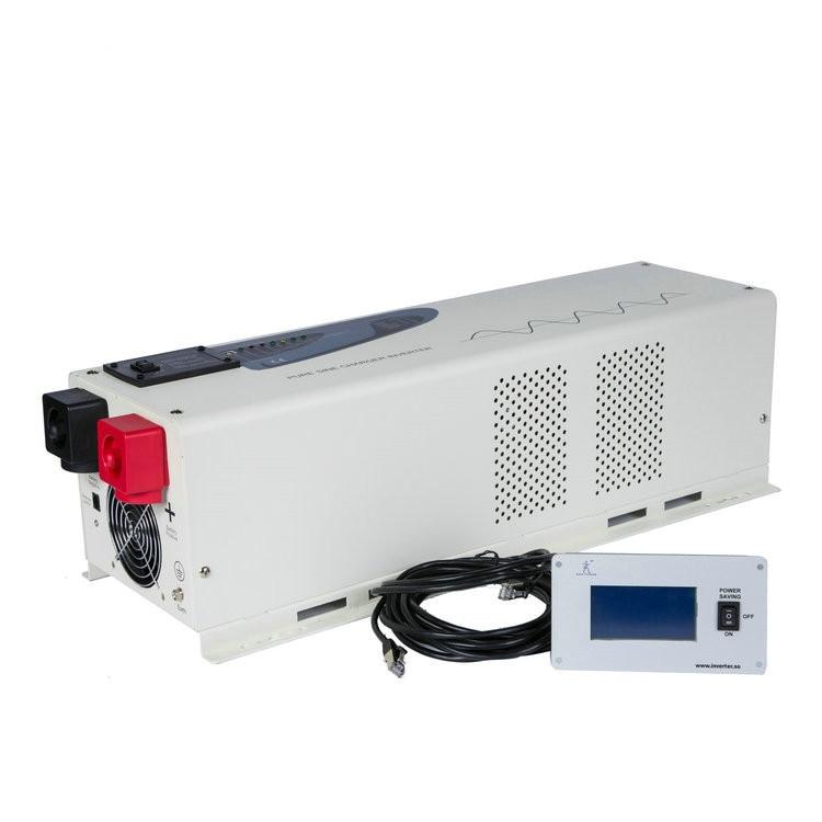 2019 new hybrid inverter series solar pure sine wave dc ac 5000w intelligent power inverter