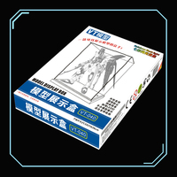 VT 040 Gundam Model Lighted Colorful Showcase Special Combination Transparent Display Box/dust Display Cabinet