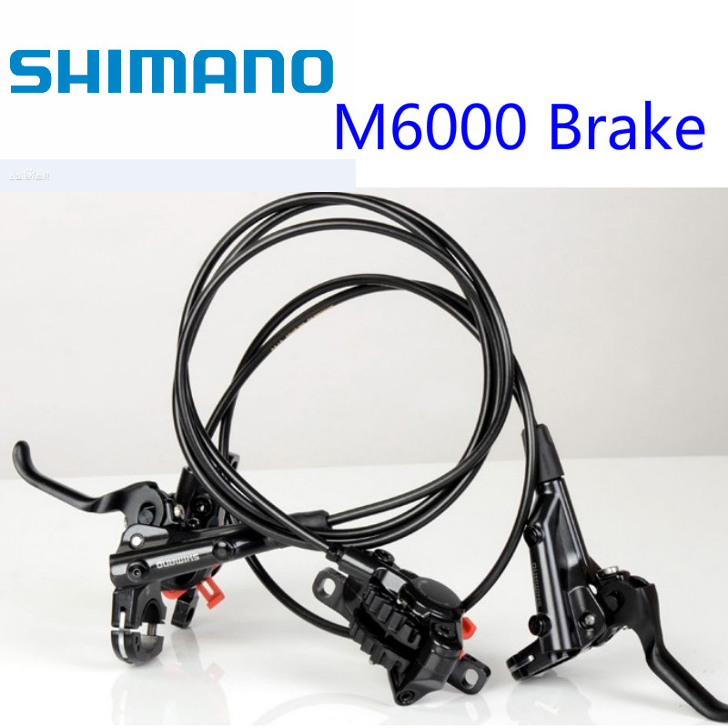 New SHIMANO Deore M615 MTB Hydraulic Disc Brake Set Front/&Rear With Resin Pad
