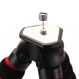 "Image 2 - גדול תמנון עכביש גמיש נייד מצלמה חצובה Stand עבור A7 GH5 600D DSLR מצלמה Stand 1/4 ""3/8"" בורג הר"