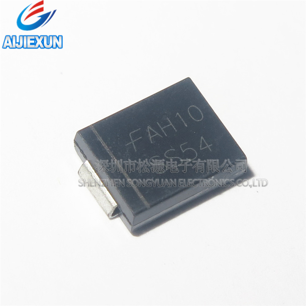 100Pcs SS54 SMC DO-214AB SURFACE MOUNT SCHOTTKY BARRIER RECTIFIERS  in stock New and original
