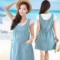 Summer Cotton Maternity Clothing Fashions Ruffles Sleeve Dress korean Dot Casual Clothes For Pregnant Women Pregnancy Dress BB06