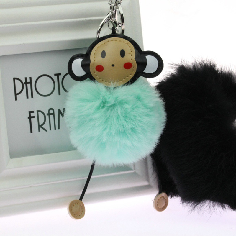 Clever monkey lovely key Mobile phone chain