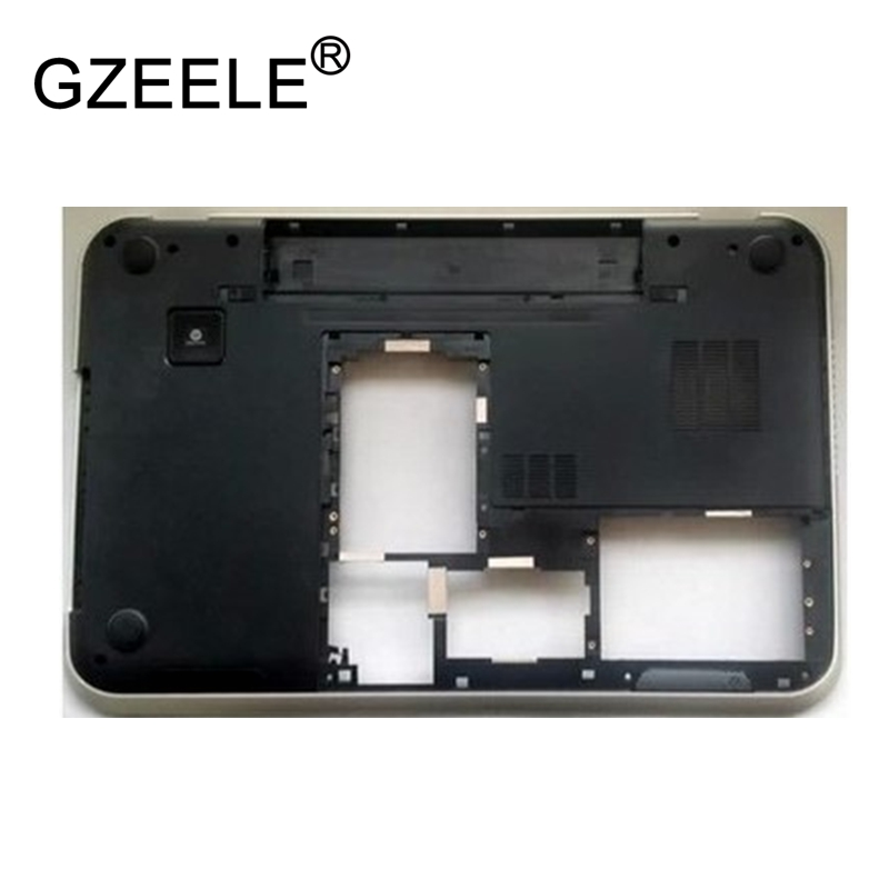 GZEELE new Laptop bottom case for DELL Inspiron 17R 7720 5720 17.3 Bottom Base Chassis D Cover shell Laptop lower case notebook крепление для жк дисплея ноутбука dell inspiron 17r 5720 7720 r