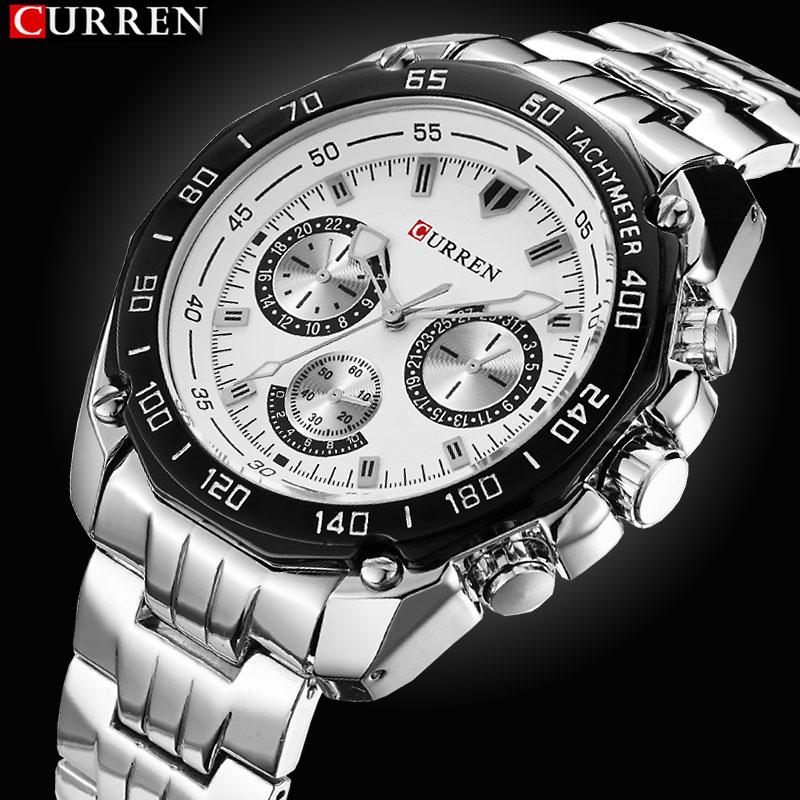 Men Watch Men's Military Business Quartz-Watch Stainless Steel Watches Top brand luxury Sport Watches For Men Relogio Masculino bosck top luxury brand watch men casual brand watches male quartz watches men waterproof business watch military stainless steel