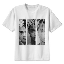 Xxxtentacion  t shirt men Summer print T Shirt boy short sleeve with white color Fashion Top Tees MMR609