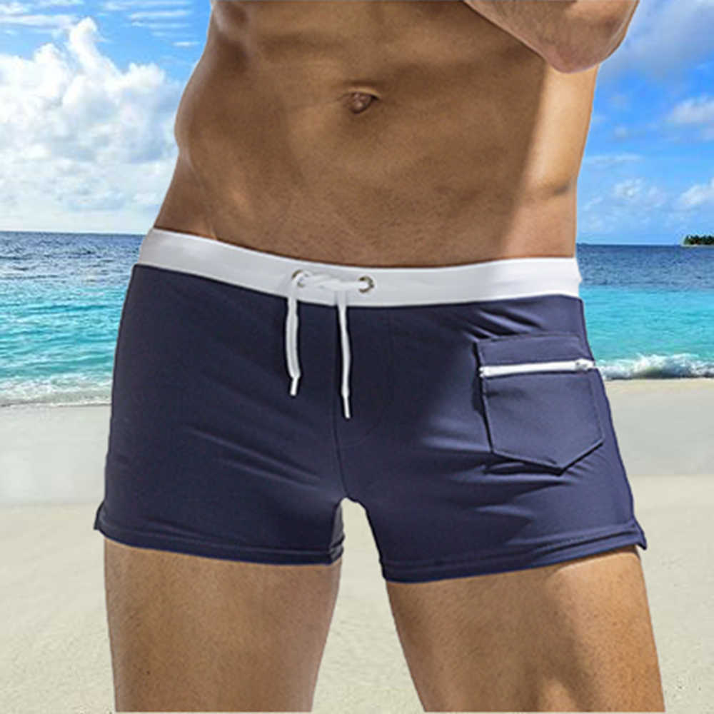 Sexy Swimsuits Man Brand Mens Swimwear 2018 New Swimwear Gay Swimming Trunks For Bath Mens Swim Briefs Shorts Sunga