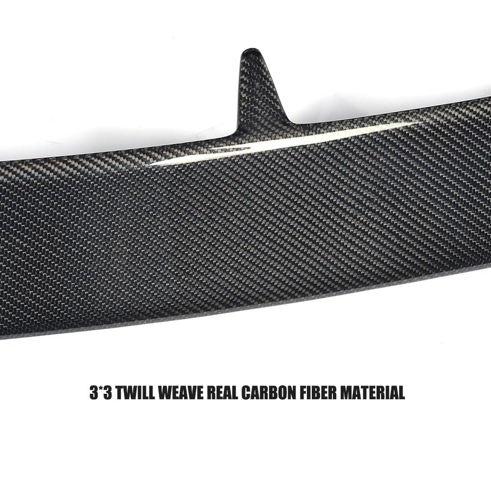 Carcasă din fibră de carbon Race Window Spoiler cu buză Husă - Piese auto - Fotografie 3
