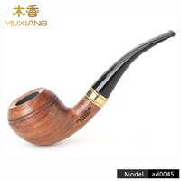 RU  High Quality rose wood Smoking tobacco Pipe Wood Cigarette Pipe  Smokes Tools Practical Dry Tobacco Pipe 9mm Filter ad0045|Cigar Accessories|Home & Garden -