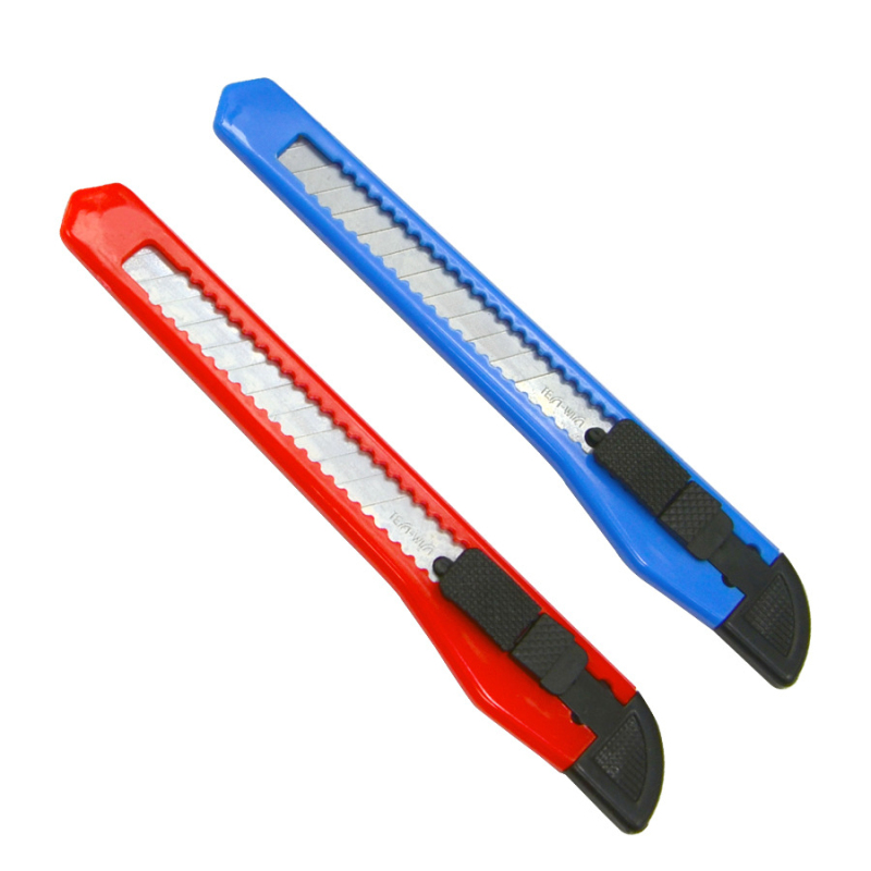 24pcs/set Mini 9mm DIY Deco Stationery Knife Box Cutter Blades Cute Kawaii Office School Utility Knives Arts And Crafts Supplies