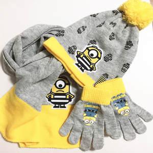 8e60b383893 children s autumn winter Glove Sets Boy s knitted hat scarf