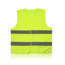 ZK30  Fluorescent Vest High Visibility Reflective Outdoor Safety Clothing Running Contest Vest Safe Light-Reflective Ventilate