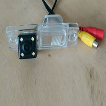 New Reversing lens Special CCD HD Nightvision 4LEDS Car Rear View Reverse Backup Camera For Nissan March Renault Logan Renaults