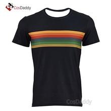 Doktor yang 13 pakaian cosplay t-shirt Jodie Whittaker kapas wanita lelaki membeli-belah percuma CosDaddy ke-13