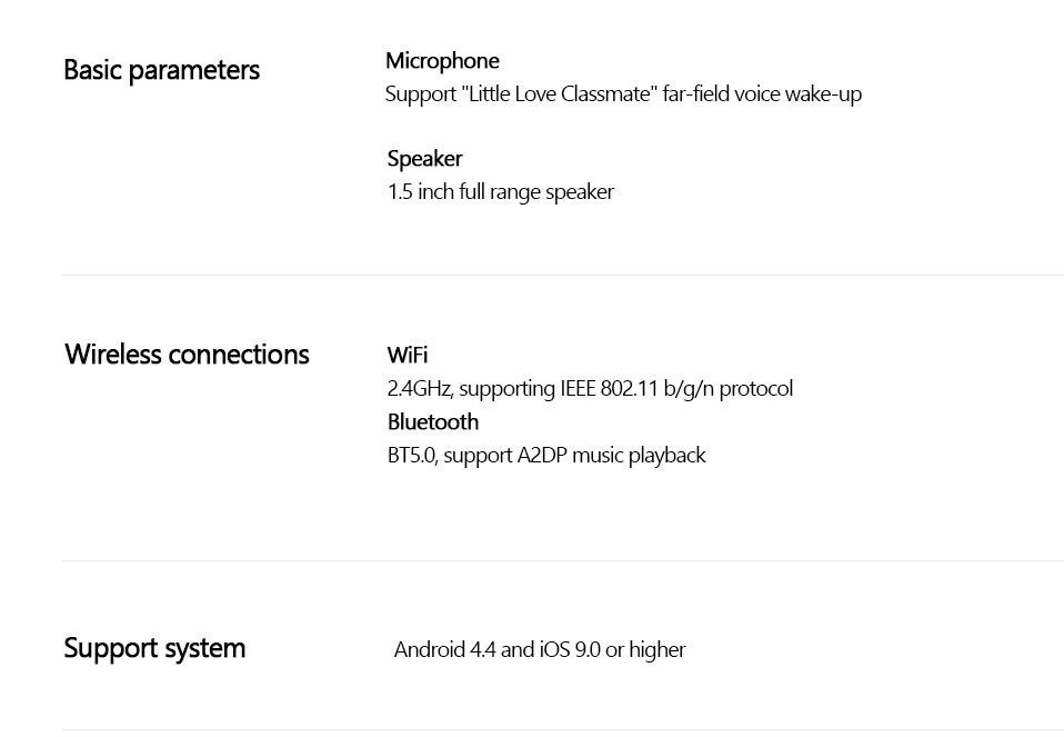 Original Xiaomi AI Touch Screen Bluetooth 5.0 Speaker Digital Display Alarm Clock WiFi Smart Connection Speaker Mi speaker (18)