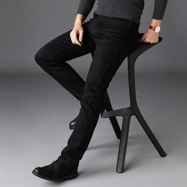 Black Elasticity Skinny Jeans 4