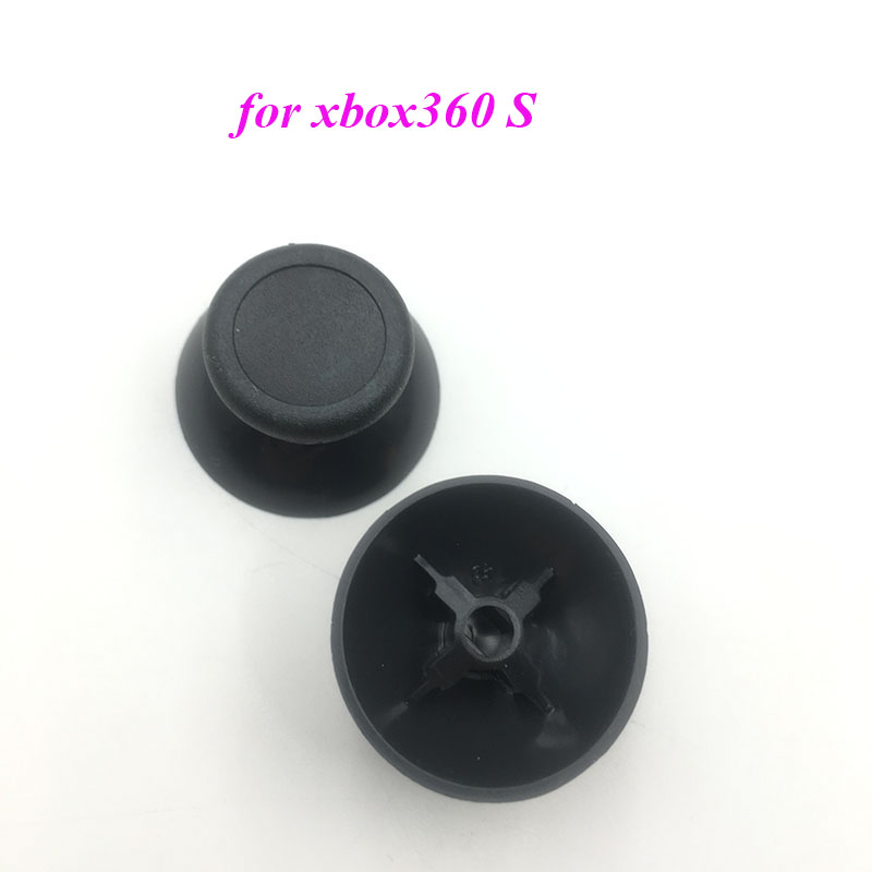 2PCS Replacement For Xbox 360 Slim Controller Analog Joystick Thumbsticks Thumb Grip Stick Cap Rubber Cap
