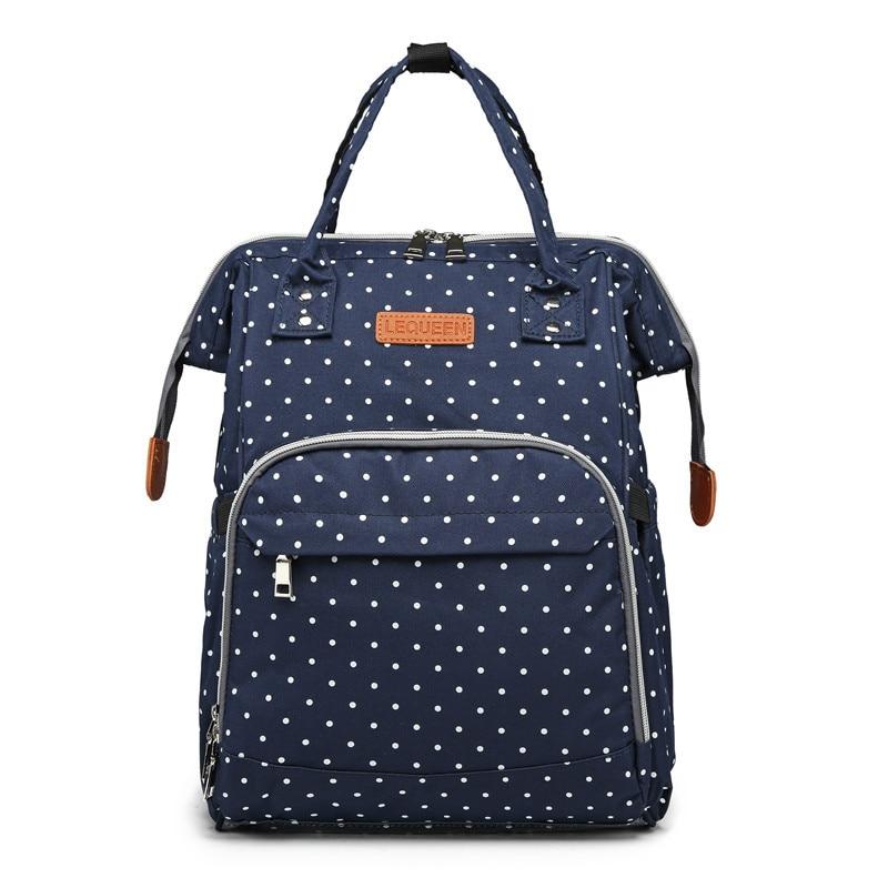 Купить с кэшбэком Lequeen diaper bag Bebe accessories backpack for mom and baby maternity multi-function waterproof wet bag baby travel bag