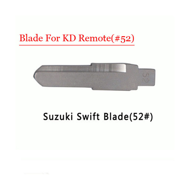 Free shipping (10 pcs/lot)Metal Blank Uncut Flip KD Remote Key Blade Type #52 for Suzuki Swift мультидом кисточка кондитерская лидер