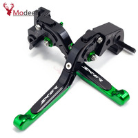 Motorcycle Accessories Adjustable CNC Brakes Clutch Levers Handle For Kawasaki ZX6R Z636R ZX6RR 2000 2001 2002 2003 2004