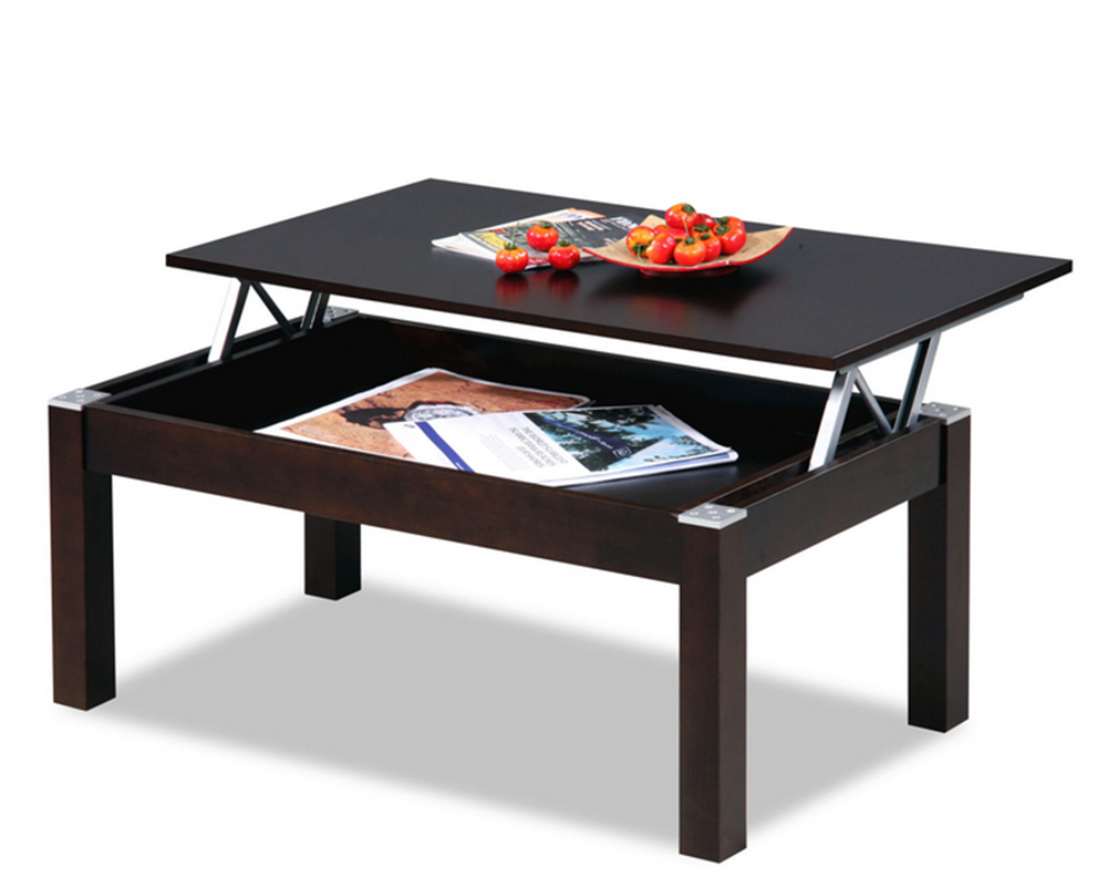 pace saving furniture mechanism steel metal folding tablelift top coffee table hinges - Desk Riser