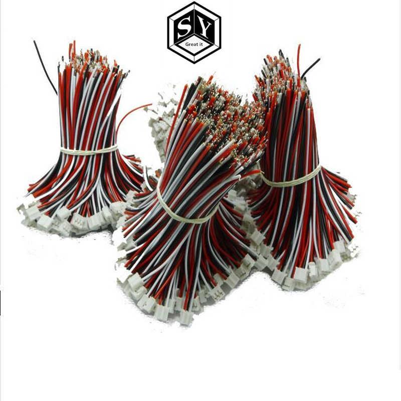 1 pièces 3 p prise fil 2.0 espacement de 10 cm de longueur carte de décodage prise de soutien bornes de fil ligne de connexion circuit imprimé