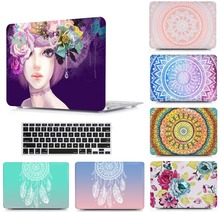 Laptop Tablet Protective Hard Shell Case Keyboard Cover Skin Bag For 13 15 New 2018 Macbook Pro Touch Bar Air 11 inch LS