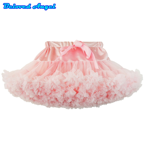 new baby meninas lace saia tutu fofo pettiskirt criancas saias de bale bailarina para roupas