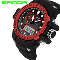 2016 SANDA Fashion Digital Watch G Style Waterproof LED Sports Military Watches S-Shock Mens Electronic Watch relogio masculino